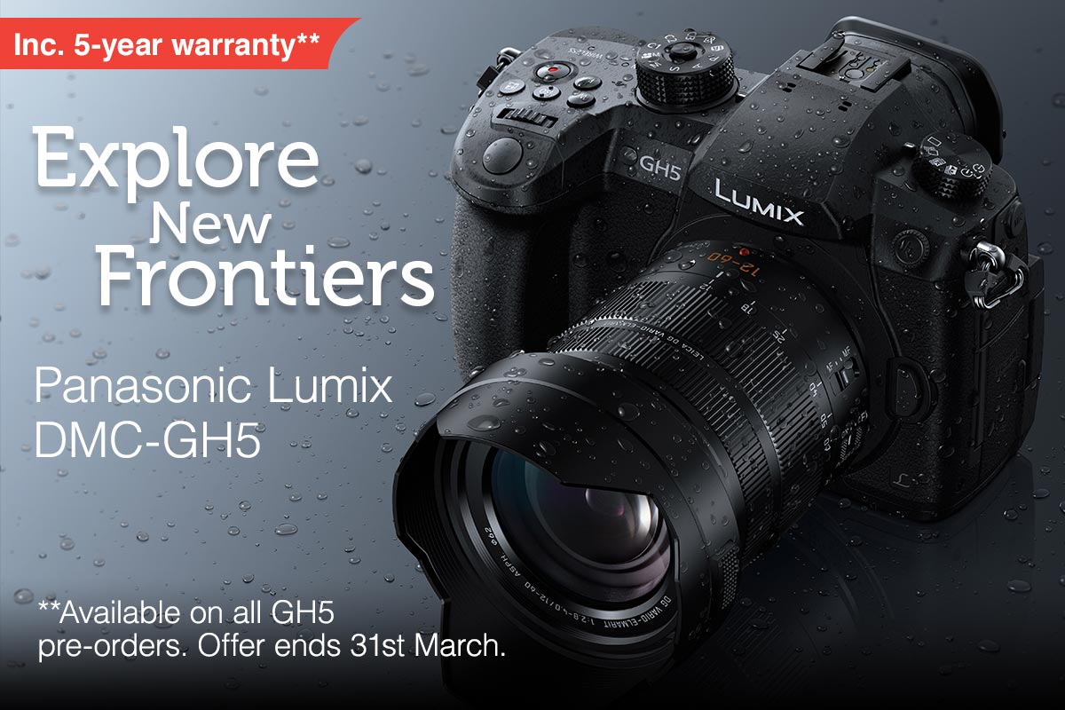 GH5 launched today