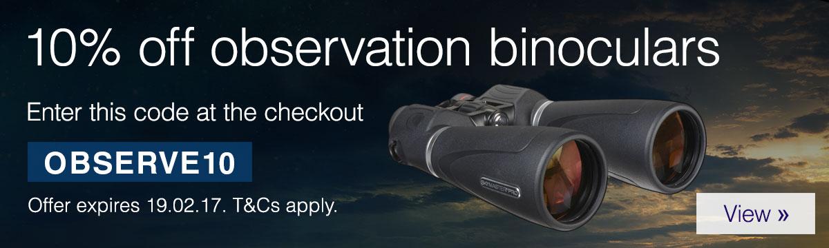 10% Off Observation Binoculars