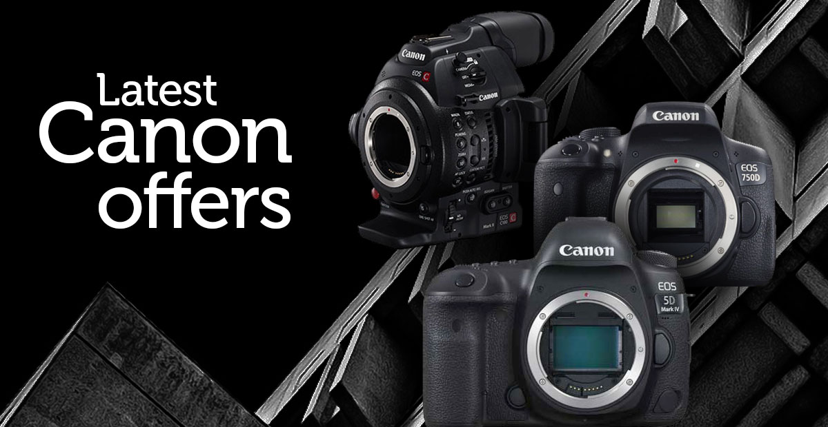 Latest Canon offers