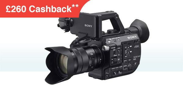 Sony FS5K with 18-105mm