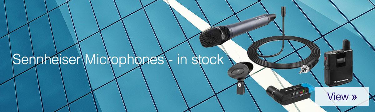 Sennheiser Microphones - In stock